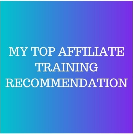 My Top Affiliate Training Recommendation