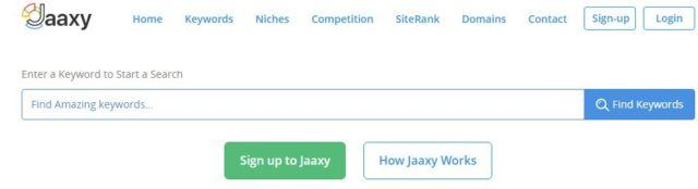 Jaaxy Keyword Suite