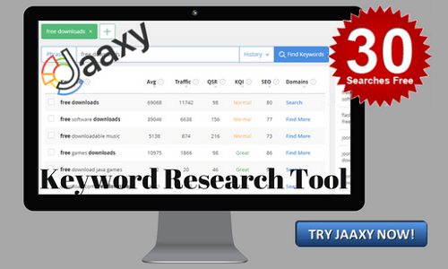 TRY JAAXY FOR FREE