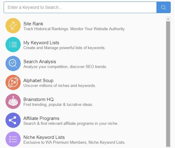 Jaaxy Keyword Research Suite